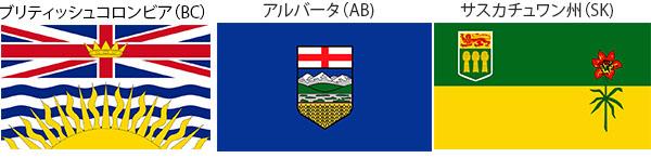 カナダ 州旗