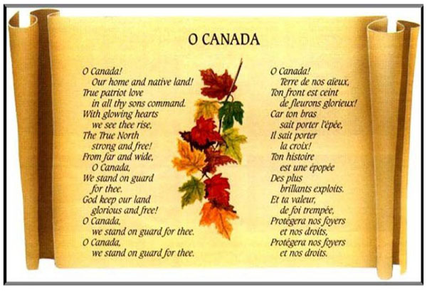 カナダ 国歌