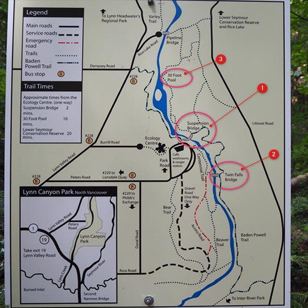 リンキャニオン 地図