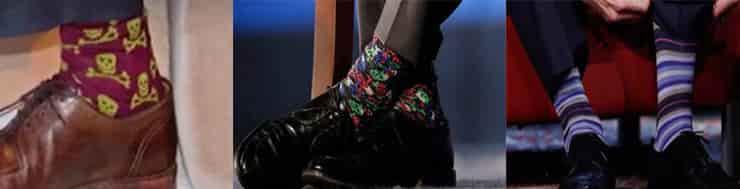 カナダ首相 靴下