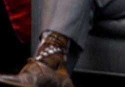 トルドー首相 靴下柄