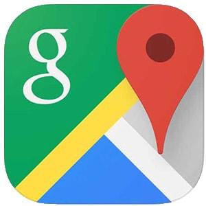 Googleマップアプリ