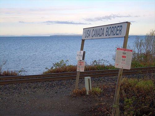 カナダ アメリカ 国境