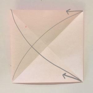 1 折り紙 パクパク