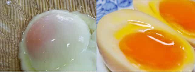 半熟卵 温泉卵